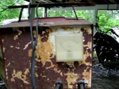 How to recharge a lawn mower battery