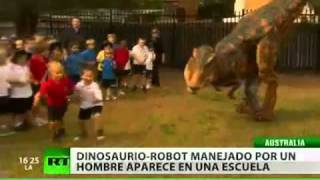 Tiranosaurio Rex ataca una escuela en Australia