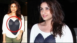 Parineeti Chopra Shocking Wardrobe Malfunction | EXCLUSIVE