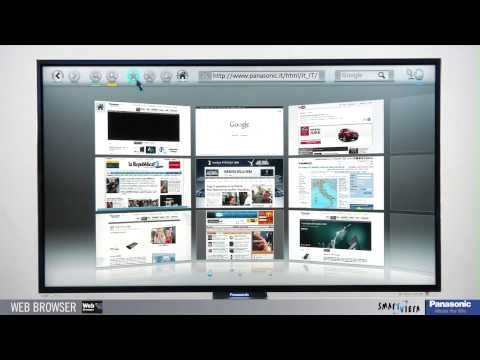 Panasonic VIERA - Tutorial Web Browser