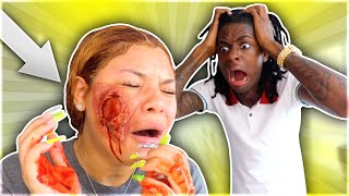 I CANT BELIEVE JALYN GOT ATTACK!!!
