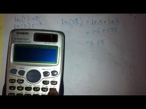 ln value without calculator in bangla