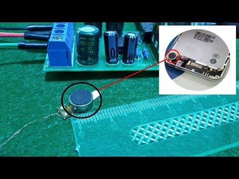 Using mobile vibrator as a speaker