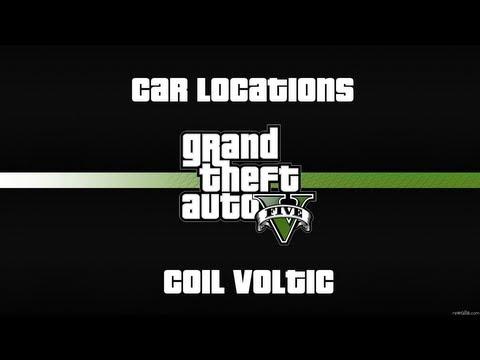 GTA V - Car  Location - Coil Voltic