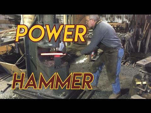 200lb Chambersburg Blacksmith Power Hammer