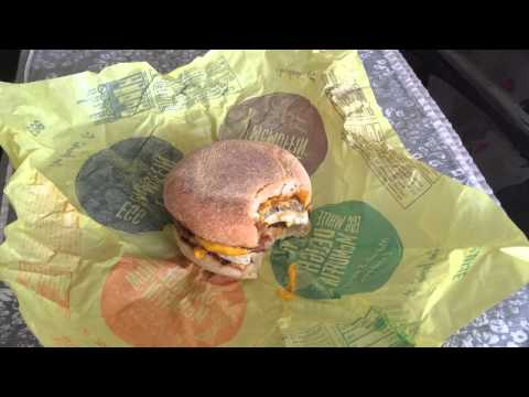McDonald's Sausage McMuffin with Egg Review