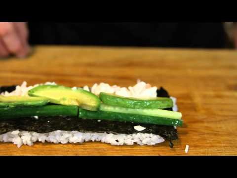 How to Make Spicy California Rolls : Sushi Preparations