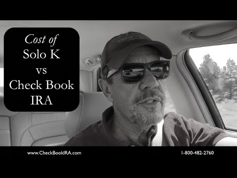 Initial Setup Costs of a Solo 401k vs a Check Book IRA LLC