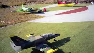 3D printed jet flying at Senja MFK in northern Norway