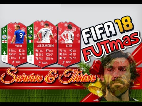 FIFA 18 FUTmas: Survive & Thrive Day 8     Cash Out Your MLS/Serie A Players!