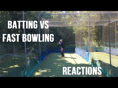 Batting against Fast Bowling - Day 2 Session 1