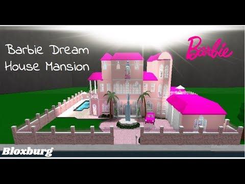 ROBLOX | Welcome to Bloxburg: Barbie Dream House Mansion Speedbuild