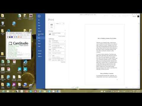 DIY Chapbook or Multi-Page Brochure Tutorial