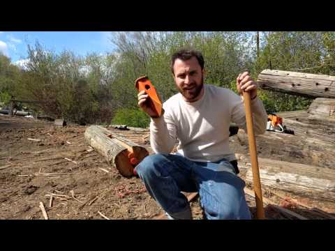 Making Split Rail Fence Posts Explained