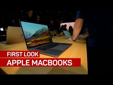 Hands-on with Apple's new MacBooks