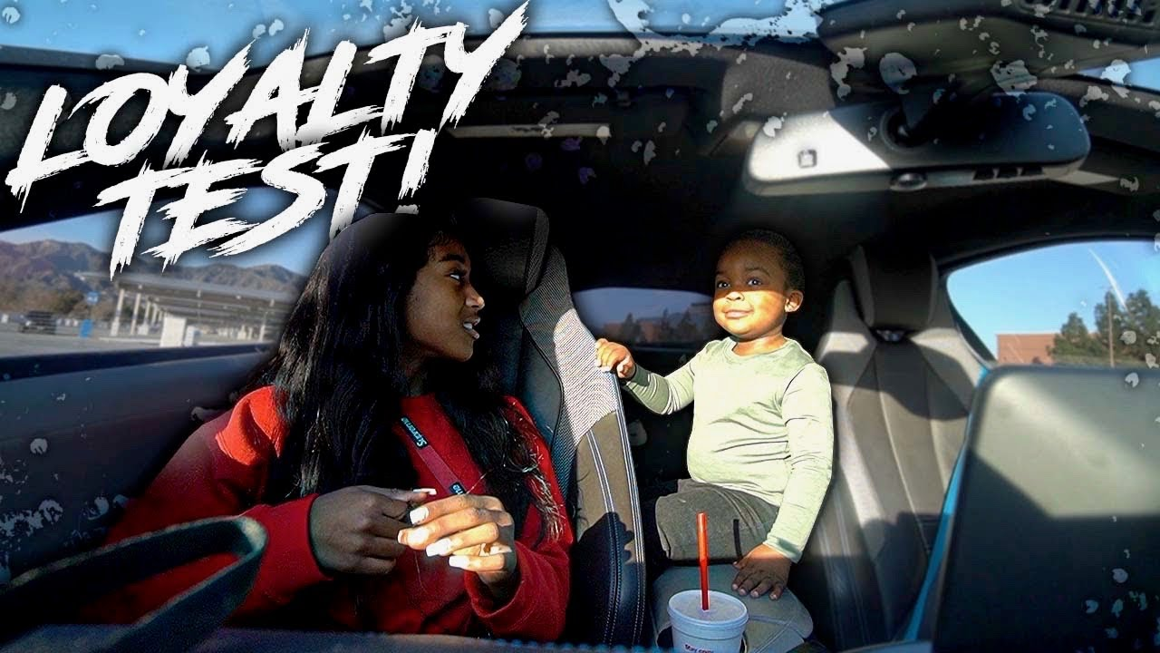 I Had TeeTee Talk BAD About Me To WooWop To See If He'll Tell Me . . | Loyalty Test