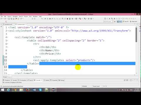 Convert XML to HTML Using XSLT in Java