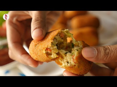 Cottage Cheese Croquettes Recipe  by Food Fusion Kids