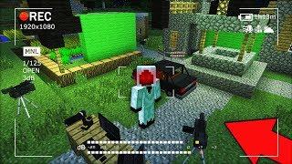 ЭТИ КАМЕРЫ ЗАПИСАЛИ НЕЧТО УЖАСНОЕ В ДЕРЕВНЕ ЖИТЕЛЕЙ В МАЙНКРАФТ 100% ТРОЛЛИНГ ЛОВУШКА Minecraft