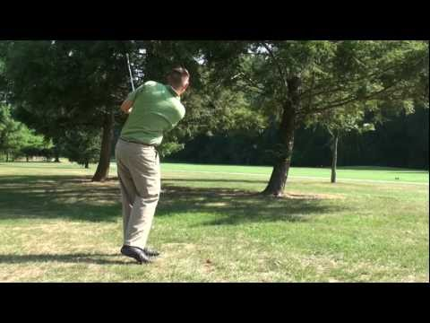 Golf Tips - Advancing the Ball Under a Tree