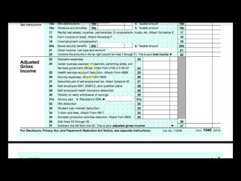 Lesson 3 - Form 1040