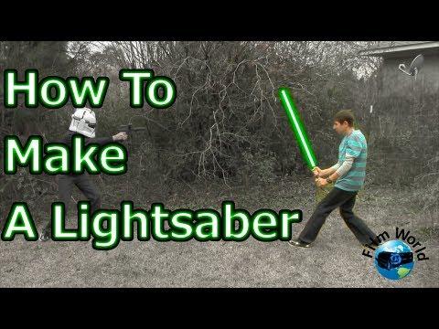 Premier Prep - How to make a lightsaber in Blender 2.69   Film World   Premier Prep episode 1