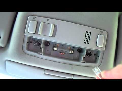 Volkswagen Passat Interior Overhead Light Bulb Change