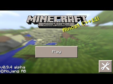 Minecraft Pocket Edition 0.9.4 Actualizacion Y Semilla con Portal Del Fin