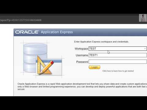 How To Create Oracle Database - Using GUI - Browser