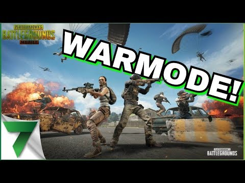 WAR MODE IS COMING TO PUBG MOBILE!!   PUBG MOBILE