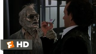 Scrooged (4/10) Movie CLIP - A Visit from Lew (1988) HD