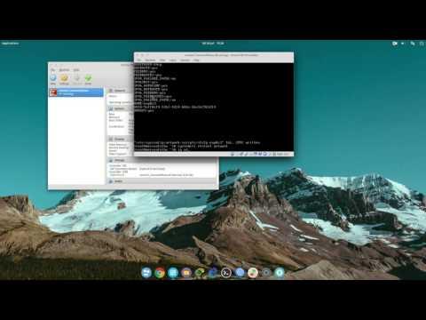 konfigurasi dasar setting ip addres pada centos 7