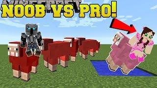 Minecraft: NOOB VS PRO!!! - SNAKE! - Mini-Game