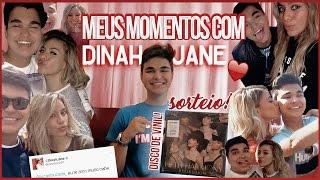 MEUS MOMENTOS COM DINAH JANE + SORTEIO! | Lucas Louzada