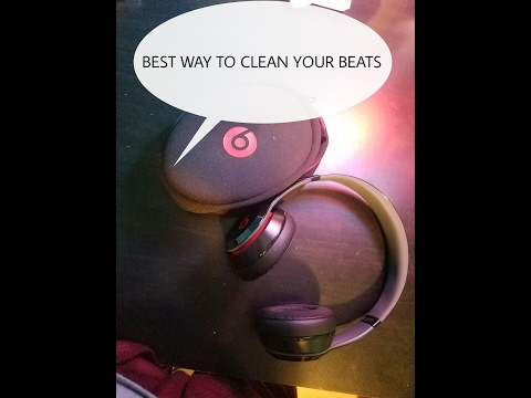 HOW TO CLEAN YOUR BEATS