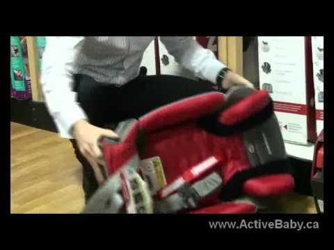 Car Seat - How to convert Diono convertible car seat to booster seat.flv