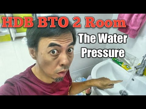 HDB BTO 2 Room The Water Pressure