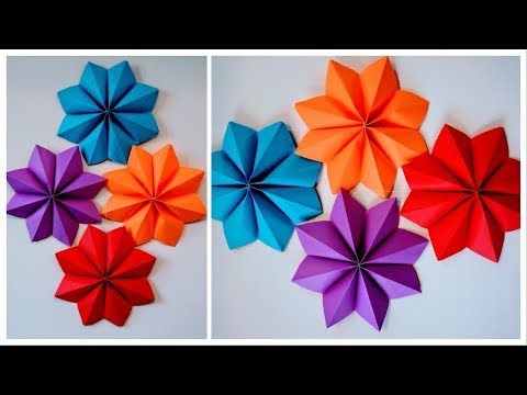 Origami Craft Ideas for Kids | Paper Star | Christmas Tree Toppers
