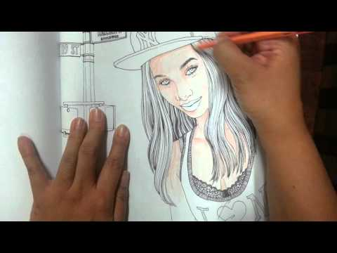 How to Color Skin Tone Using Watercolor Pencils