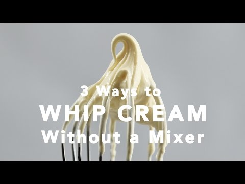 3 Ways to Whip Cream Without a Mixer | Yummy Ph