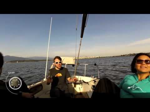 Sailing English Bay Vancouver