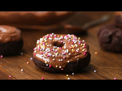 Easy Homemade Chocolate Doughnuts (Gluten-Free)