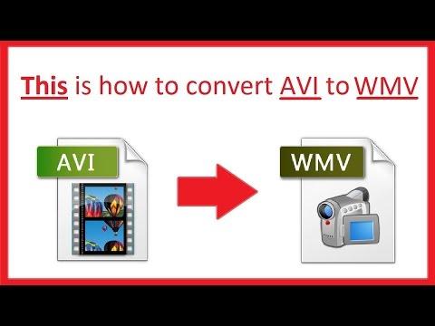 How to Convert AVI to WMV using the best AVI to WMV converter