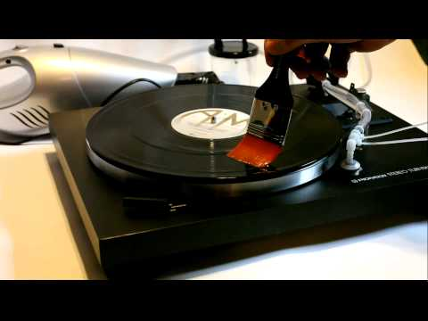 My DIY record cleaning machine - Lave disque vinyle