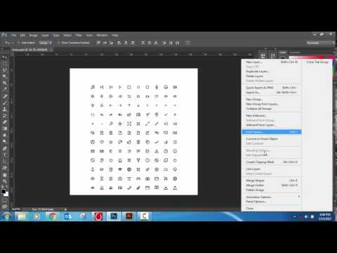 Converting PSD Icons [Photoshop] to SVG Icons