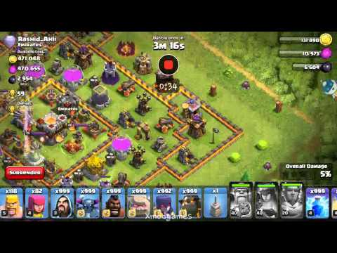 Clash Of Clans Hack Mod Unlimited Troops, Spells
