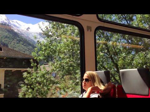 Scenic Train Travel in Europe France Switzerland Austria