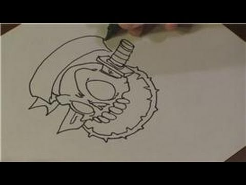 Drawing Lessons : How to Draw Tattoo Stencils