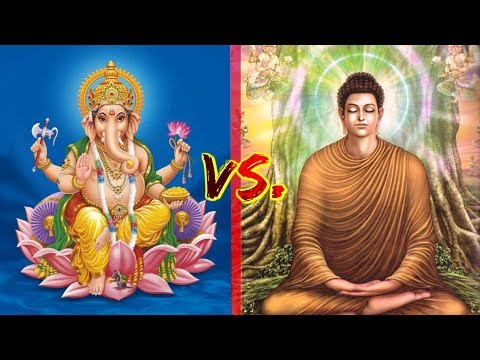Buddhism VS. Hinduism! (What's the Difference?)