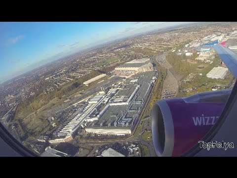 Takeoff from London Luton Airport